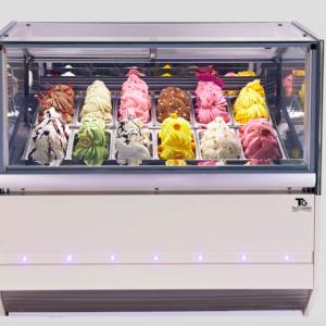 Ice Cream Showcases