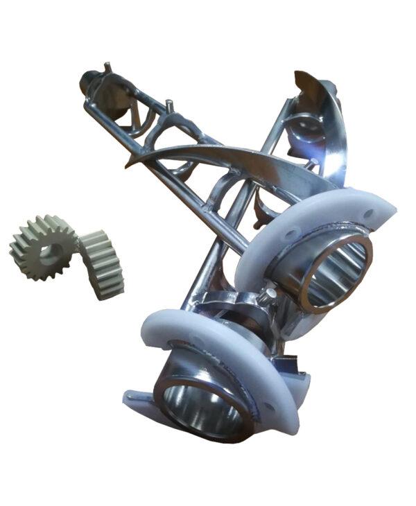 Batidores de acero inoxidable